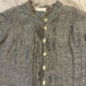 CP Shades Dresses - CP Shades linen dress gray, perfect condition W Sm
